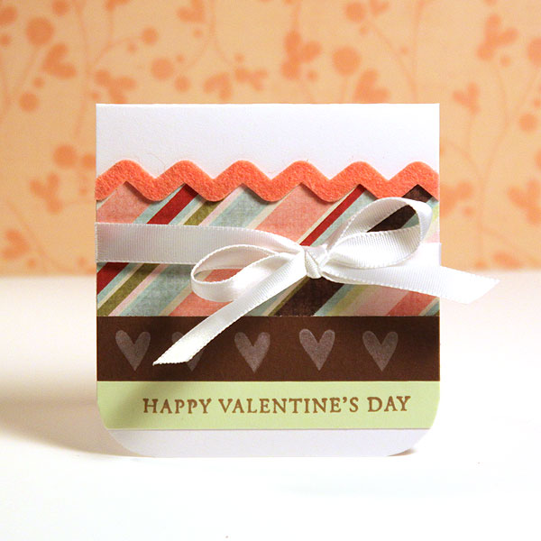 Finally Friday - Happy Valentine's Day Mini Card