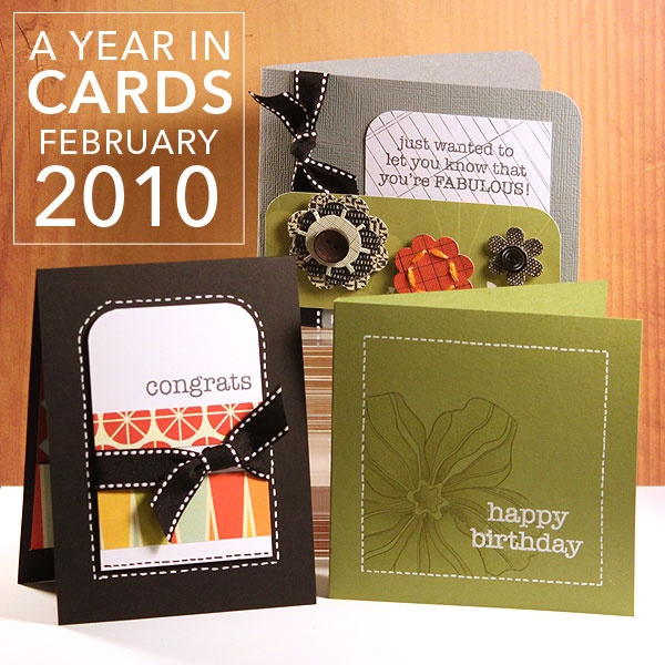 A Year in Cards - February 2010
