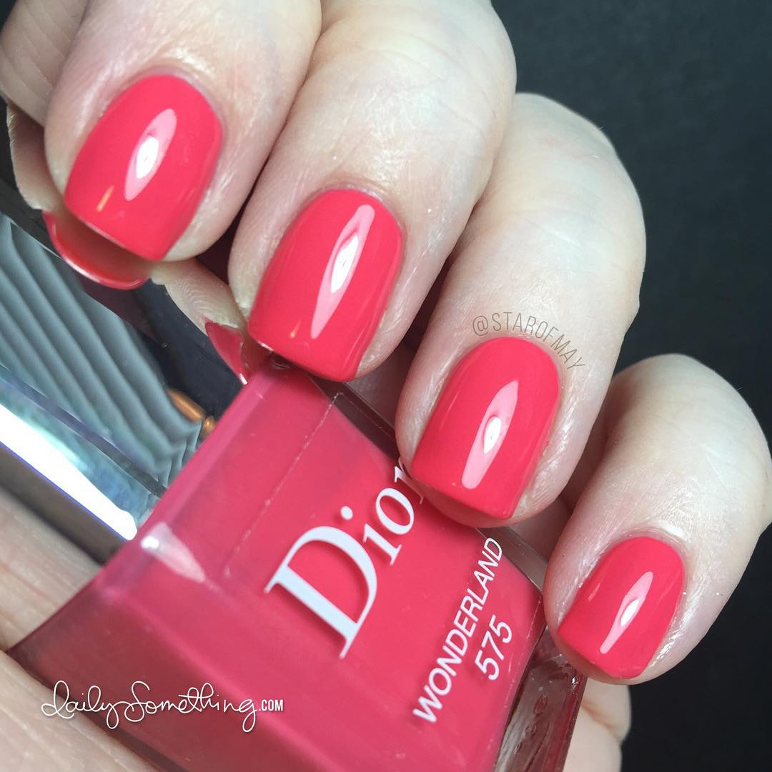 Time for a polish change! Todays color is Dior Wonderlandhellip