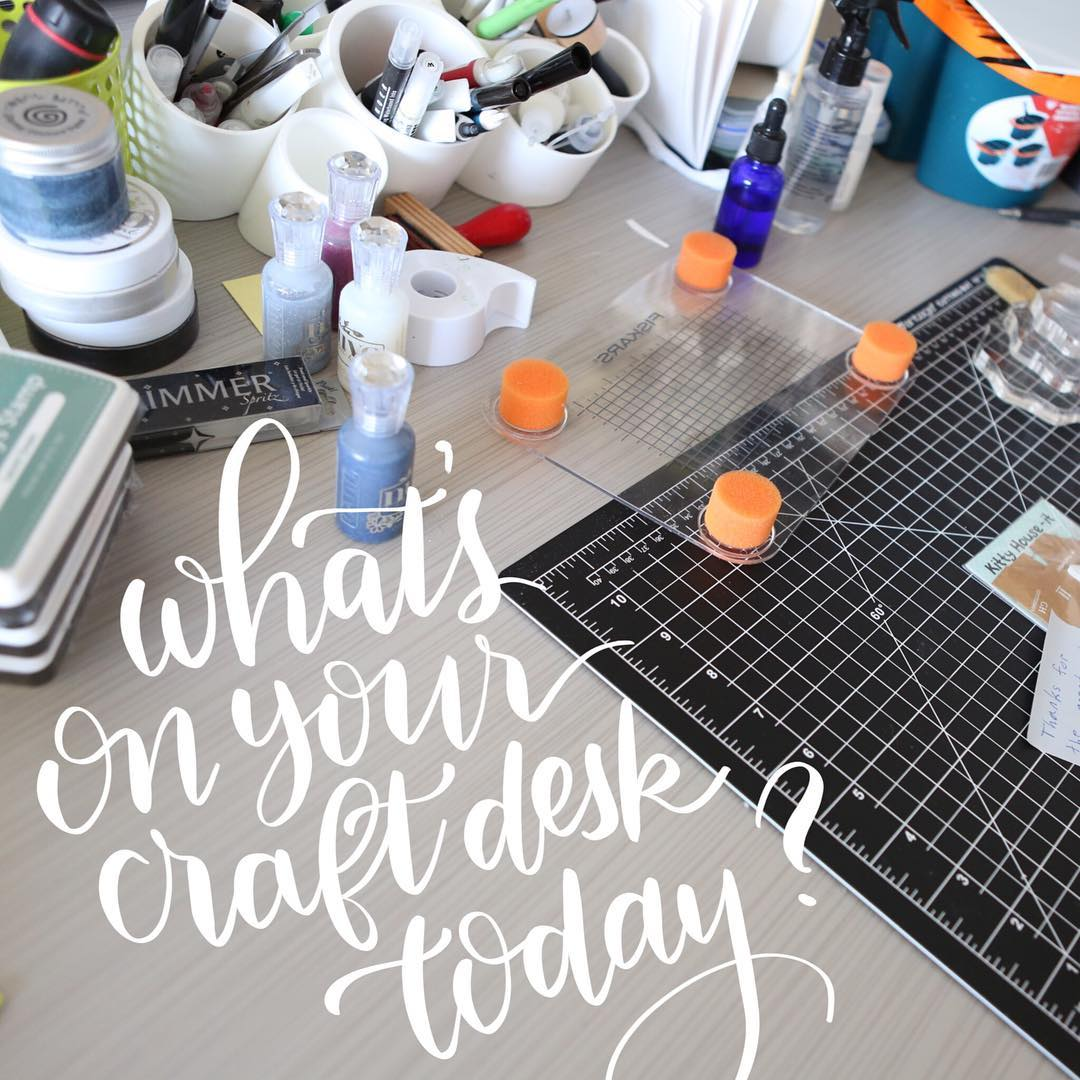 Happy Sunday! Anyone else crafting today?