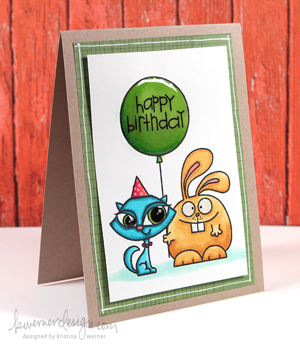 MACM – Happy Birthday (Copic Coloring) – kwernerdesign blog