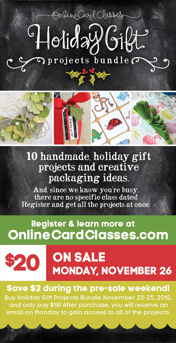 Holiday Gift Projects Bundle PRE SALE GIVEAWAY Kwernerdesign Blog