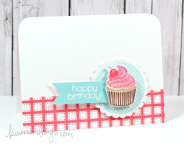MACM - Happy Birthday Cupcake