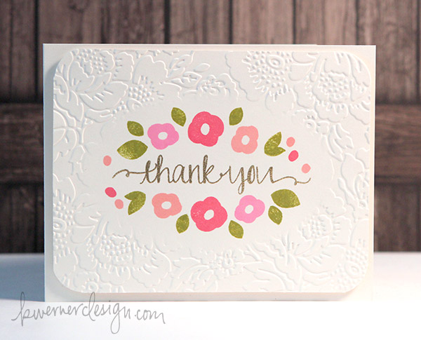 MACM - Thank You (Diffuser Embossing)