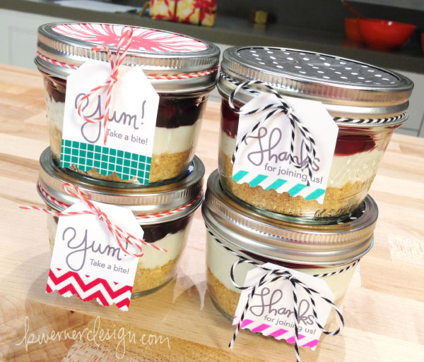 No Bake Cheesecake in a Jar with Jenn! – kwernerdesign blog