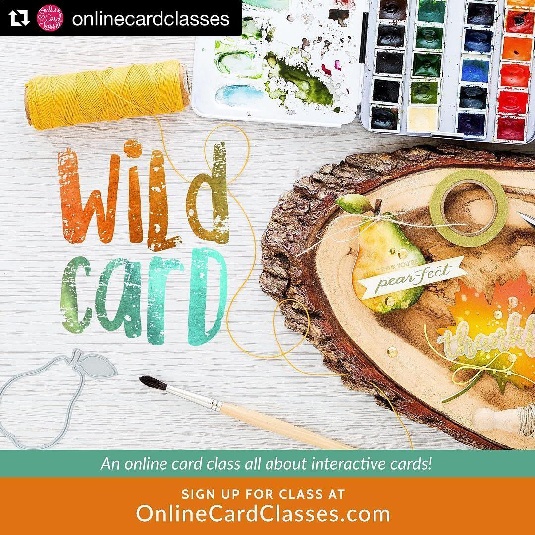 So excited for our next class at OnlineCardClassescom! A lothellip