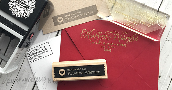 Custom Return Address Stamps Handmade By Kwernerdesign Blog