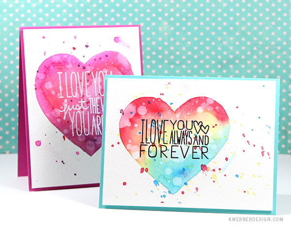 Masked watercolor heart cards make a card monday 270 masked watercolor heart cards make a card monday 270 m4hsunfo