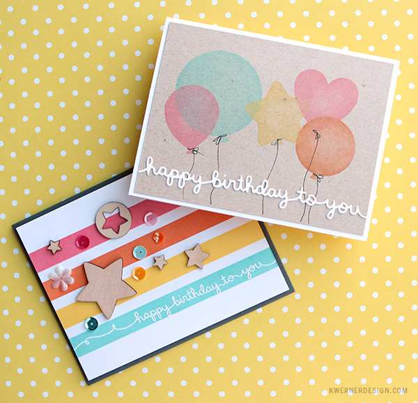 masking diy stencil birthday cards make a card monday 272
