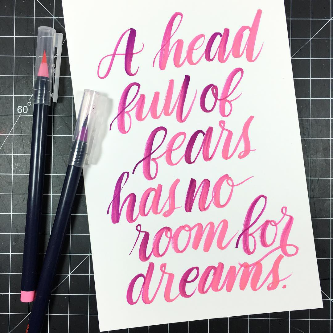 Late night lettering  Quote Unknown Markers Akashiya Sai writtenhellip