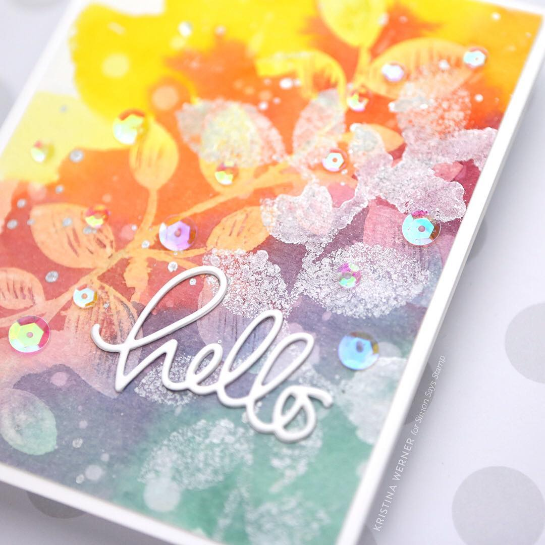I shared a card video over at the simonsaysstamp bloghellip
