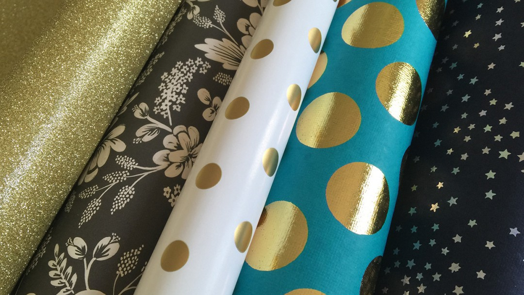 Wrapping Paper & Fine Art Paper Haul - PaperSource.com