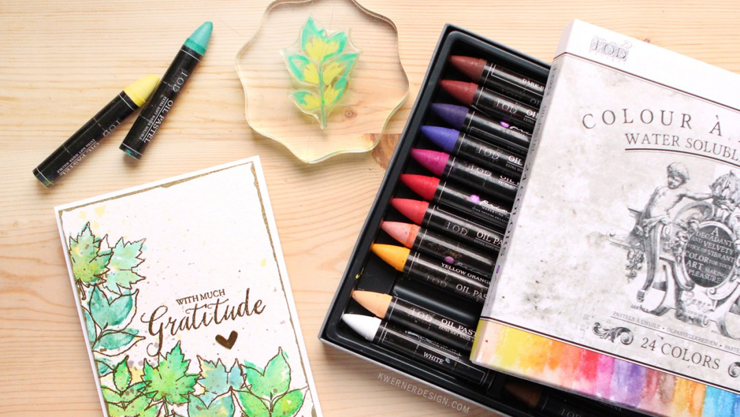Prima Water Soluable Oil Pastels - First Look & Impressions