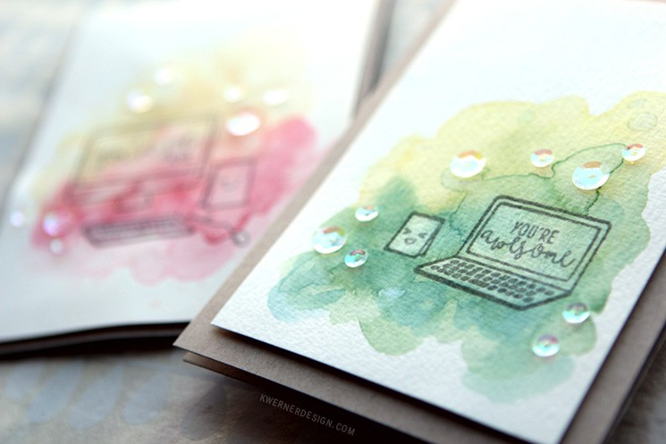 Hot vs. Cold Pressed Watercolor Paper - Which is better for backgrounds?