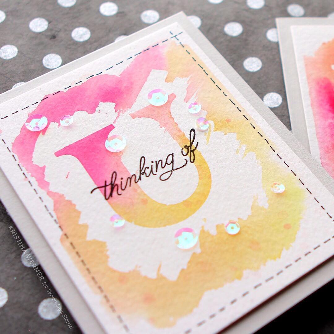 Playing over at the simonsaysstamp blog today with a newhellip