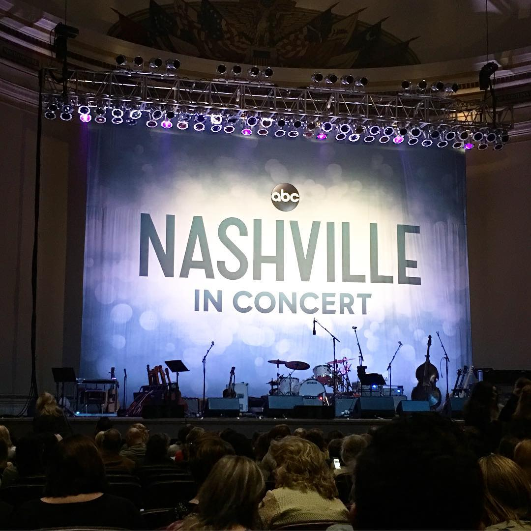 Should be a fun night! nashvilleinconcert darconstitutionhall whenTVshowsandreallifecollide fangirl