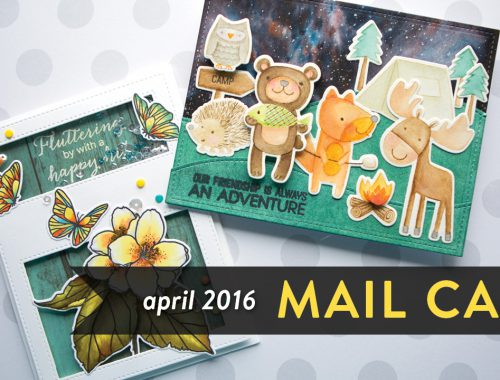 Mail Call April 2016 - Coloring Cards from YOU!