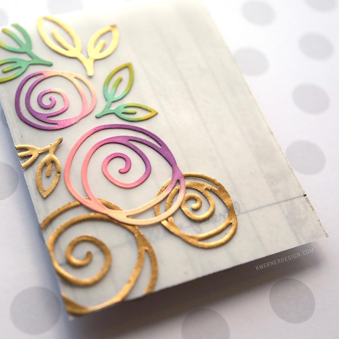 Talk about an adventure in cardmaking! This card almost crashedhellip