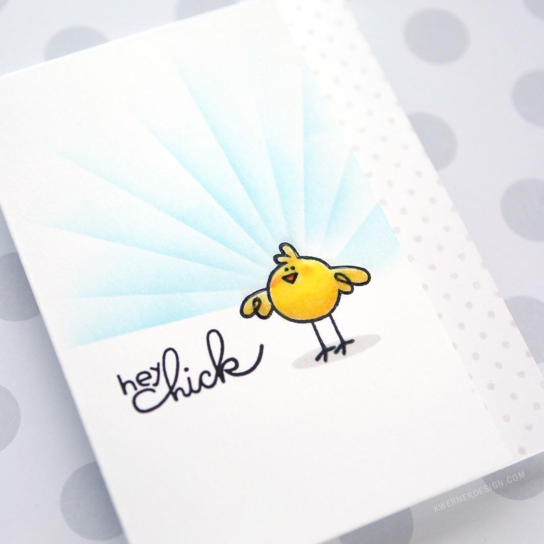 Hey Chick!  Just posted this clean and simple cardhellip