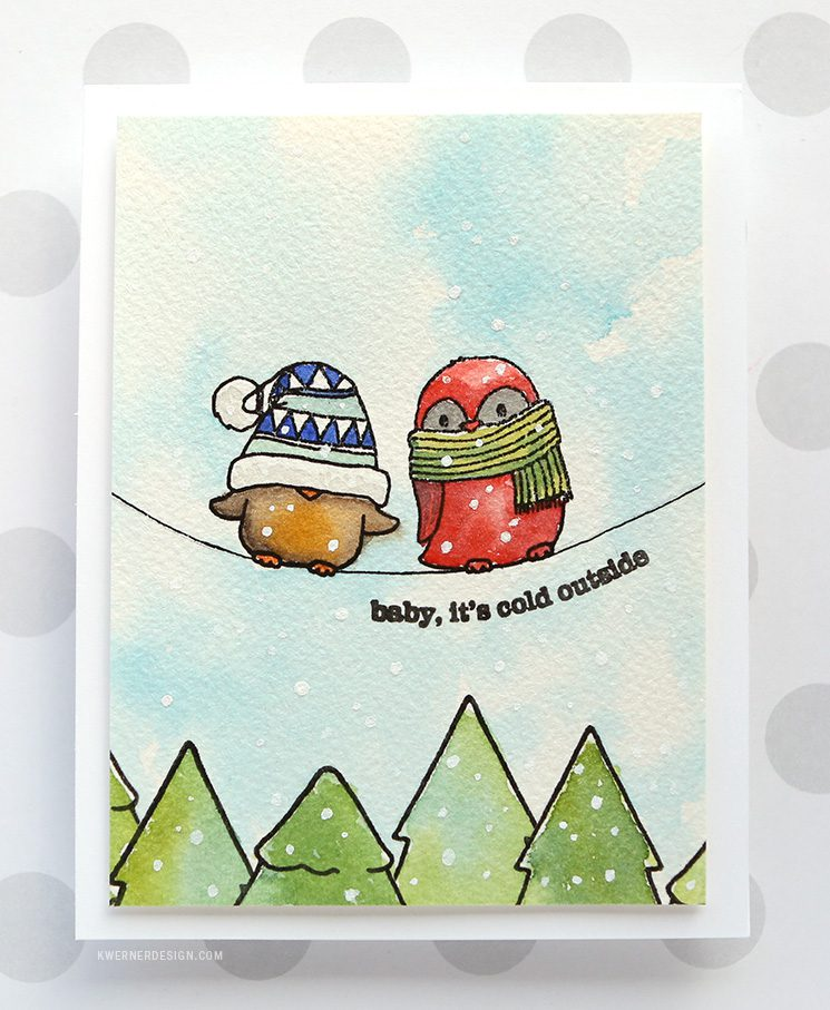 Baby, It's Cold Outside - Funny Winter Birds