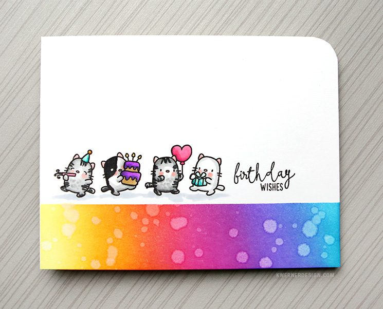 SO MANY CATS! Clean & Simple Birthday Card
