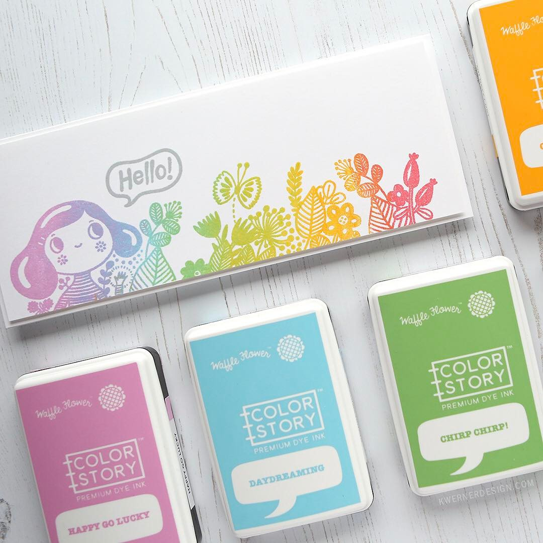 Are you ready for some rainbow stamping? I love thishellip