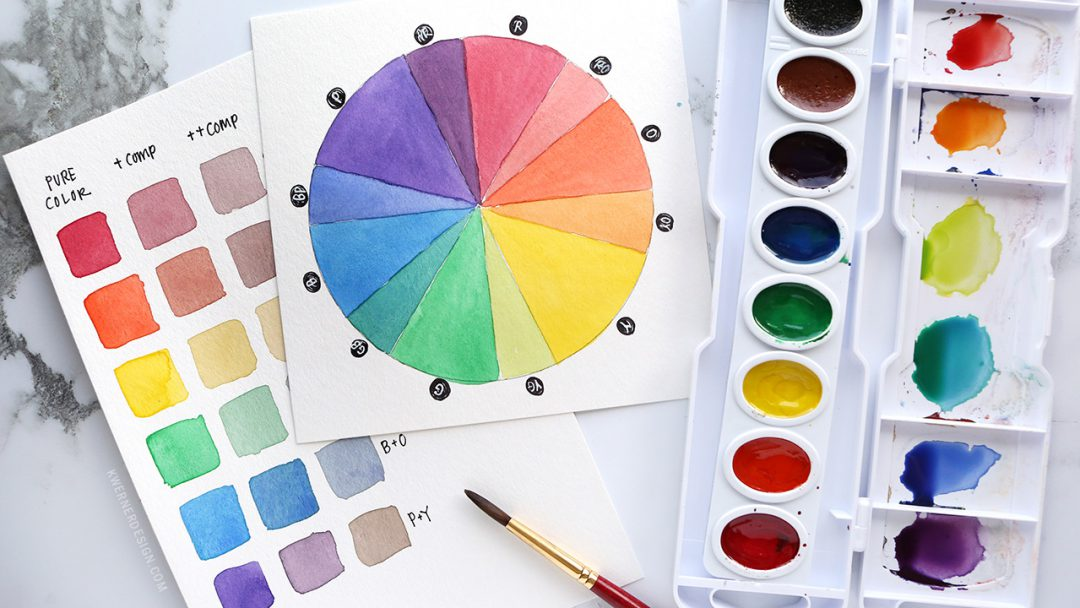 How To Stretch Your Watercolors By Mixing Simple Beautiful Custom