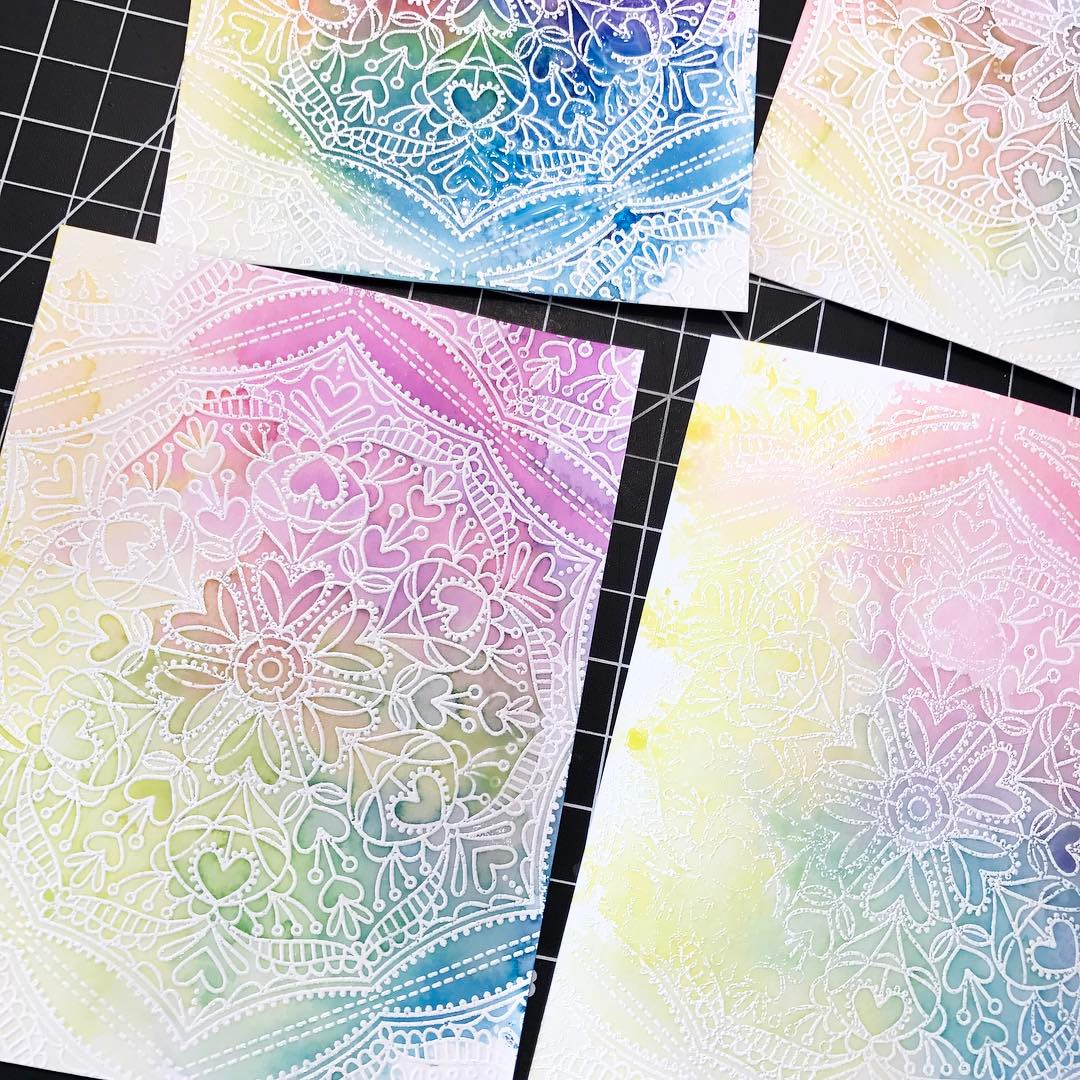 Prepping more class card samples for the simonsaysstamp Create eventhellip