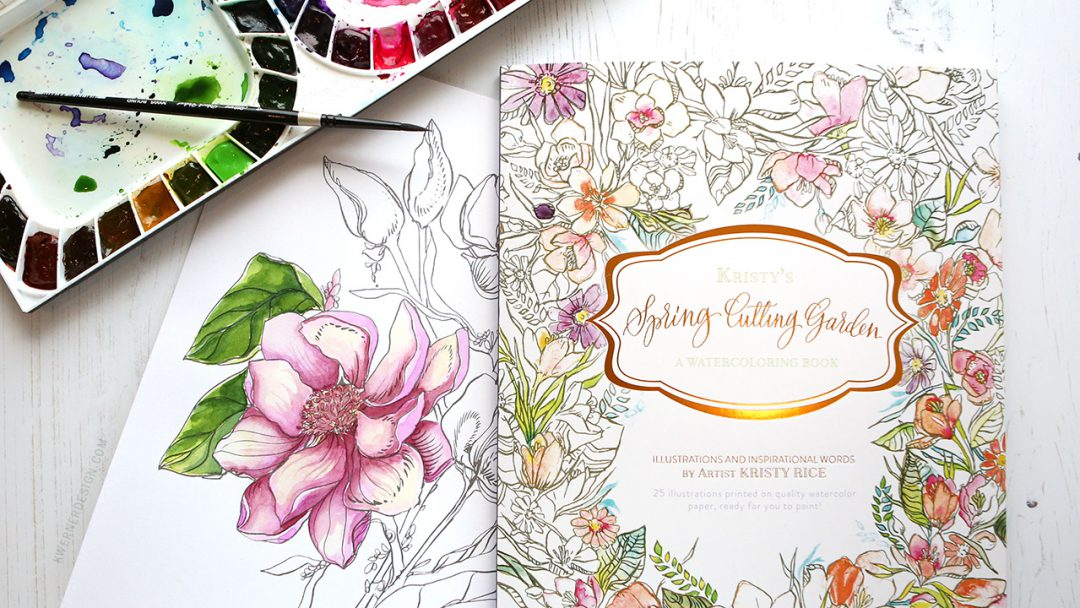 NEW Painterly Days Watercolor Coloring Book GIVEAWAY ...