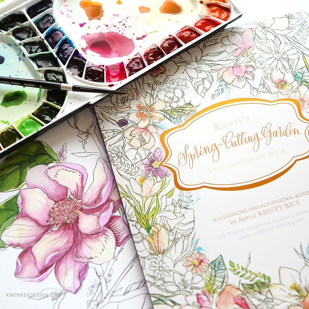 So excited about momentals new watercolor coloring books that arehellip