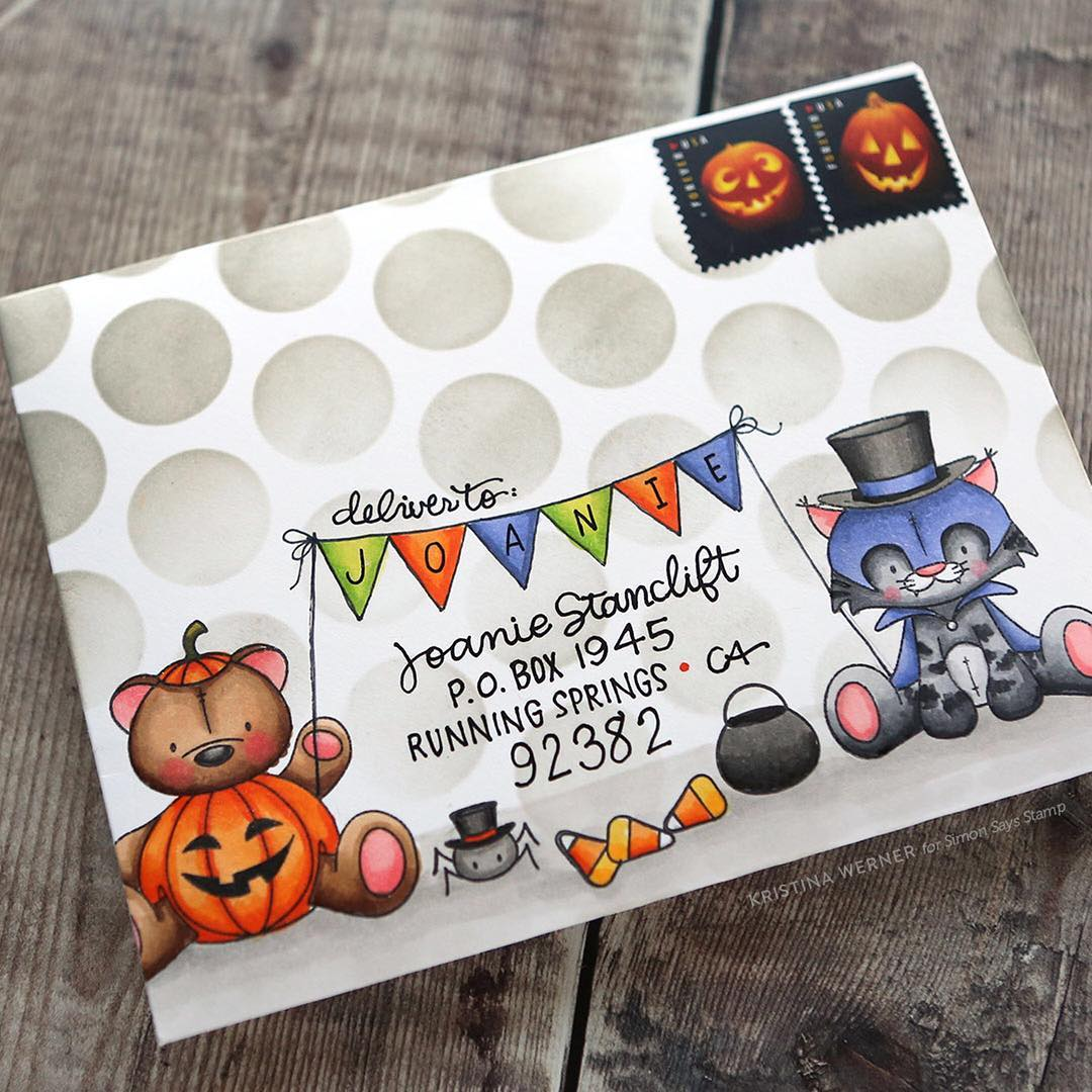 Morning all! I have a fun Halloween envelope video forhellip