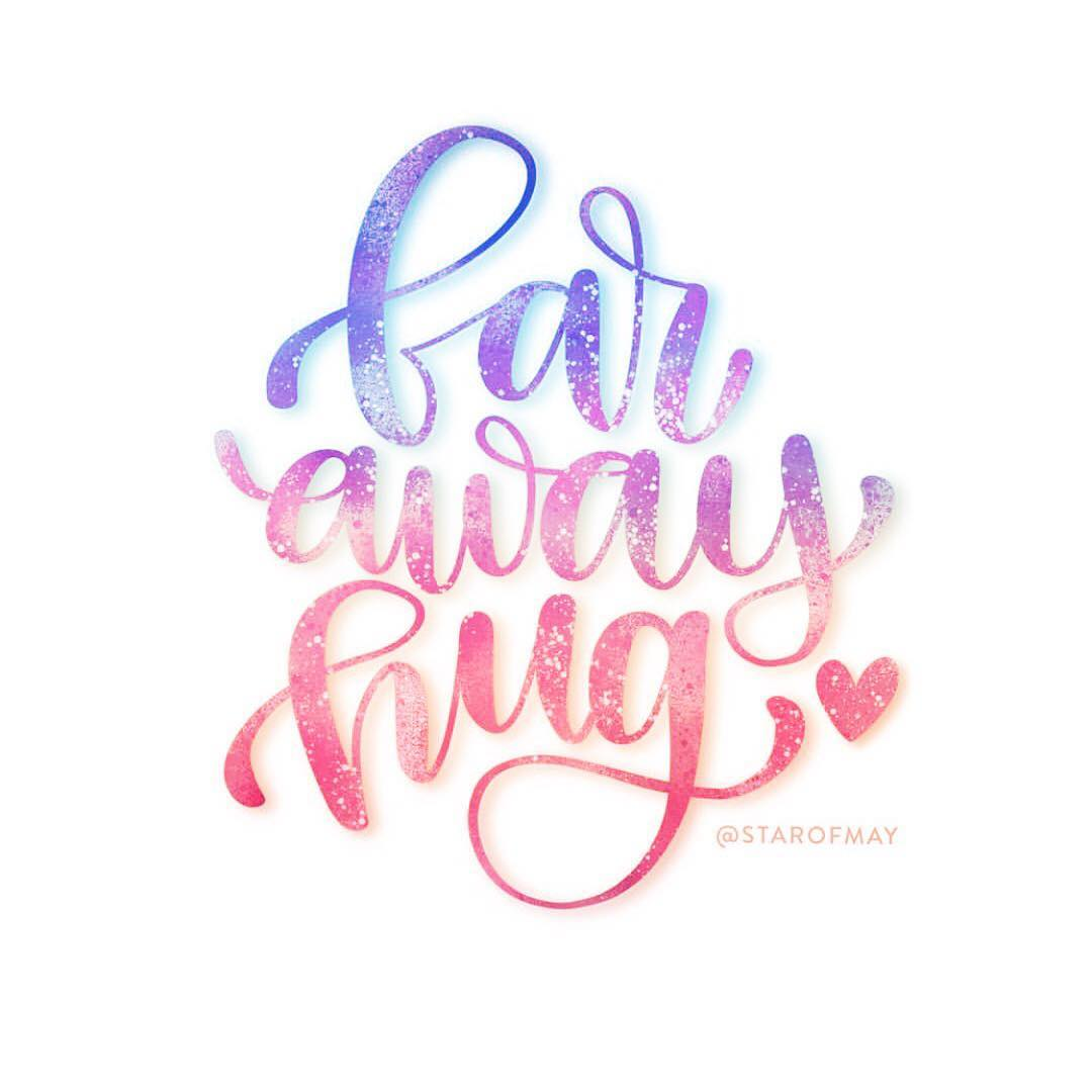 Sending hugs to all my friends who are so farhellip