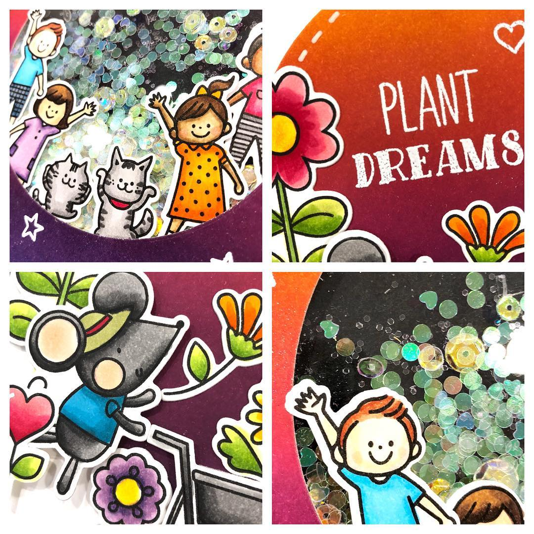 Coming soon! Played with new waffleflowercrafts stamps and dies todayhellip