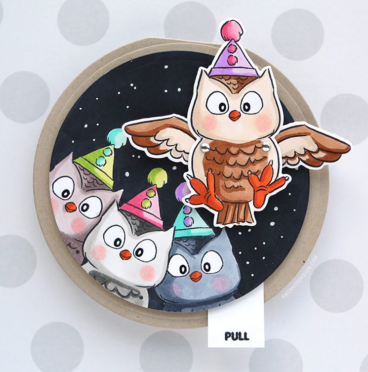 Interactive Flutters Owl Card – Art Impressions Week Day 1