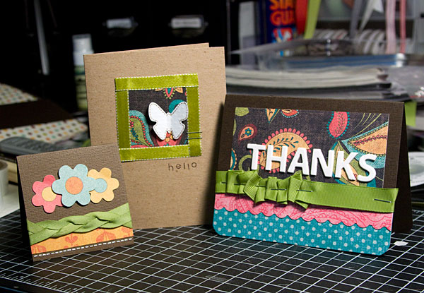 A Year in Cards - March 2009