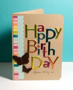 Finally Friday - Happy Birthday From All of Us