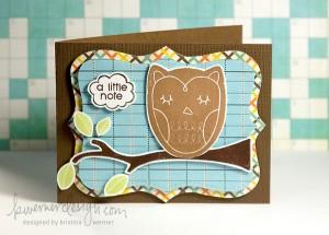 MACM - A Little Note (Owl)