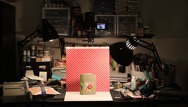 Photographing Cards