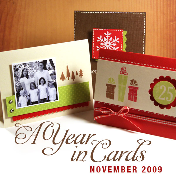 November A Year in Cards