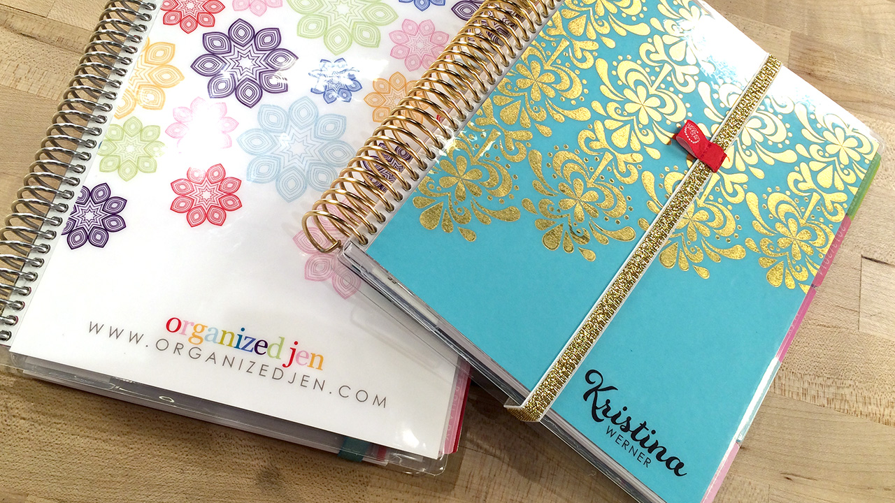 A look at My Erin Condren Life Planner with Jen! + Recommended Planner Accessories