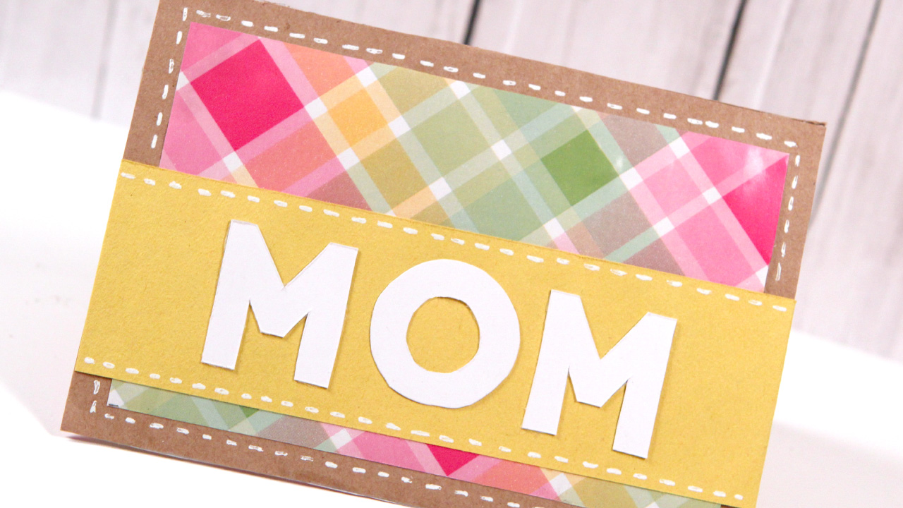 DIY Mother's Day Card – Make a Card Monday #249