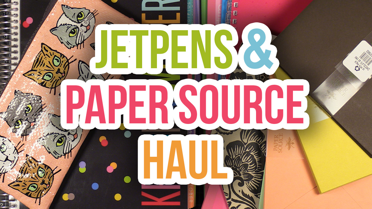 Jet Pens & Paper Source Haul – Notebooks, Envelopes, Pens – Another look inside my Erin Condren planner