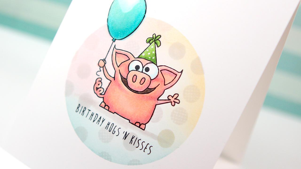 Copic Markers & Simon Birthday Farm Animals – Color Wednesday #53