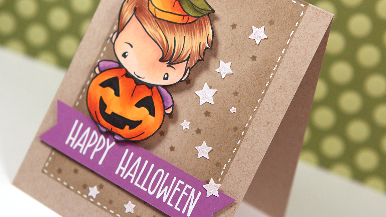 Copic Markers & The Greeting Farm Spooky – Color Wednesday #54