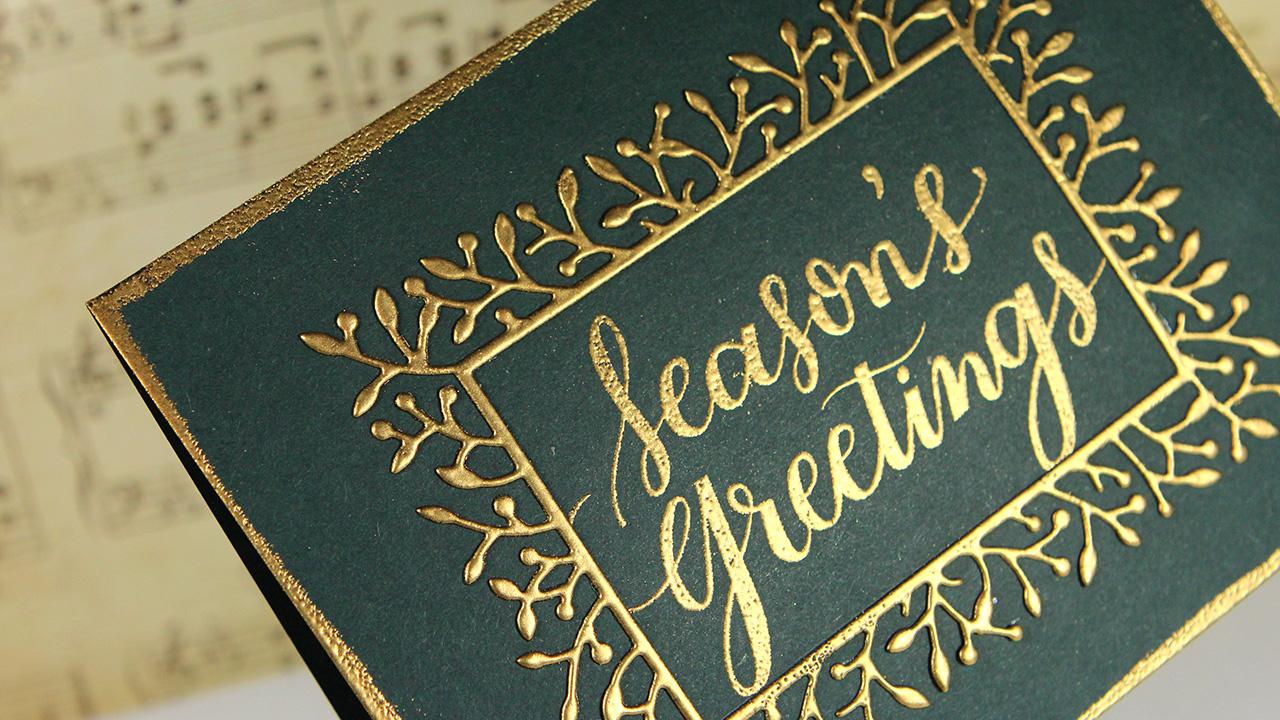 Season's Greetings – Simon Says Stamp DieCember Blog Hop