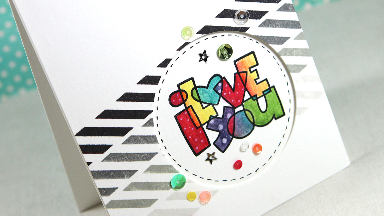 I Love You (Paper Smooches Lots of Love)