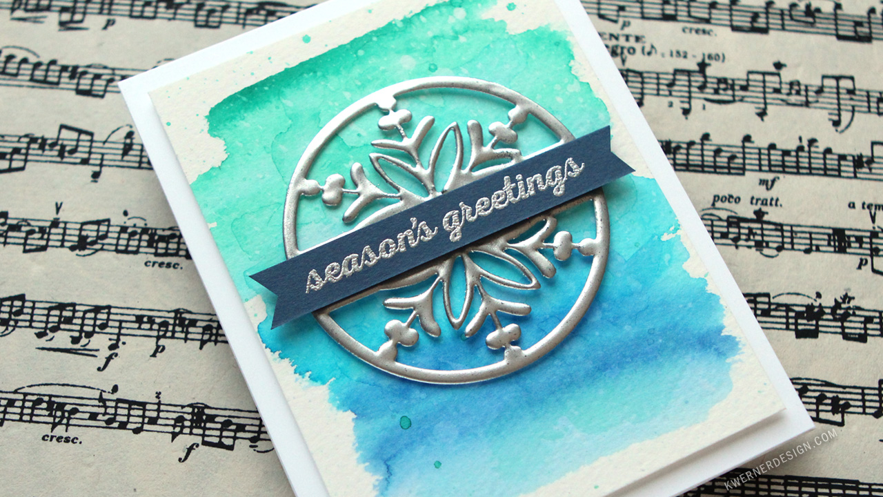 Hero Arts & Peerless Watercolors (Hero Arts Blog Hop!)