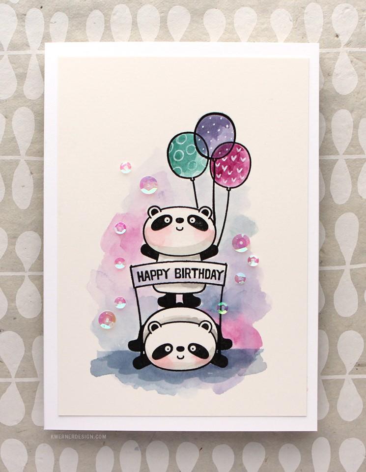 Happy Pandas! 30 Day Coloring Challenge Blog Hop