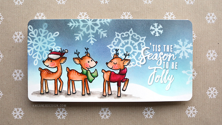 Holiday Card Series 2016 - Day 1