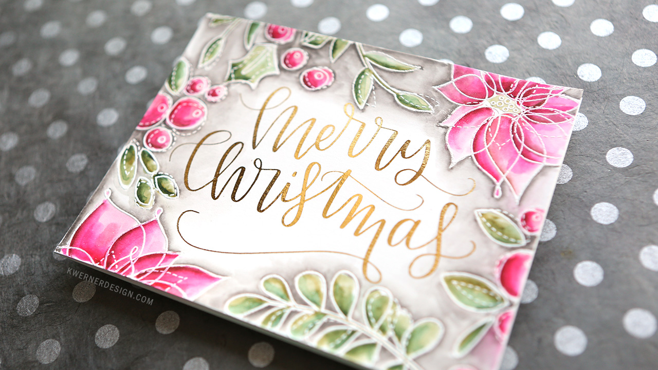 Holiday Card Series 2016 – Day 12 (DIY Foil + stamping)
